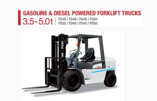 Forklift Ethio Nippon Tehnical Company S C